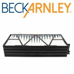Beck Arnley Cabin Air Filter Set For 2000-2004 Subaru Outback - Heating Ph