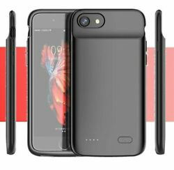 Power Case Cover External Charging Magnetic For Iphone 6 7 8 Plus X Xr 11 12 Pro