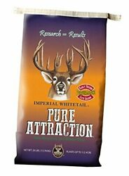 Pure Attraction Deer Food Plot Seed Annual Blend Of Oats Brassicas And 1