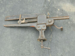 Peck Stowe And Wilcox Pexto 20 Sheet Metal Anvil Roller Tinsmith Tool