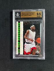 Top Prospects Promo 2003-2004 Ud P2 Lebron James Rc Rookie Bgs 9.5 Upper Deck