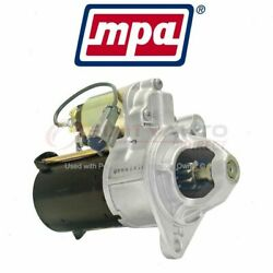 Mpa Starter Motor For 2004-2008 Chevrolet Optra - Electrical Charging Ga