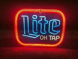 Bud Lite Neon Sign Local Pickup Only Chicago Suburbs