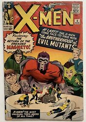 1963 X-men 4 1st Scarlet Witch And Quicksilver