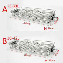 Spit Rotisserie Grill Basket Stainless Steel Flat Basket For 25-42l Rotary Oven