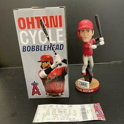 Shohei Ohtani Bobblehead 2021 Mlb Rare Angels Unopened Rookie With Ticket 971/ak