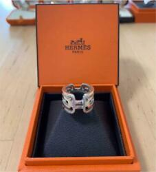 Hermes Accessory Ring Size 49 Alkane Pm Used Condition Ok No Box,bag Designer