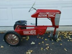 Amf Action Trac Chain Drive Tractor Ride-on Vintage Antique Htf Pickup Only