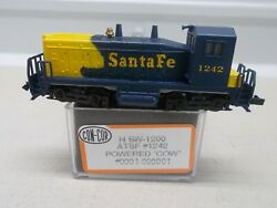 Con Cor At And Sf - Santa Fe Powered Cow Locomotive 1242 N-scale