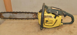 Pioneer P41 Classic Muscle Saw P-41 Chainsaw Vintage Logging Parts Saw Tool