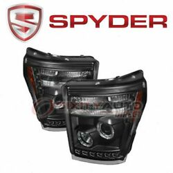 Spyder Auto Headlight Set For 2011-2016 Ford F-350 Super Duty - Electrical Hr