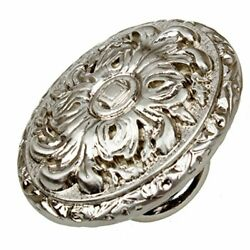 Gliderite Hardware 5710-sn-50 Old World Ornate Oval Cabinet Knobs 50 Pack 2 ...