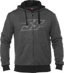 Speed And Strength Menand039s Resistance Armored Hoody Charcoal Jacket Size Small
