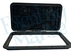 New Innovative Product Solutions 520-309 13 X 23 Black Boat Deck Hatch