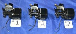Motors Singer 15-91 And 201-2 Sewing Machines Serviced Replace Wires Original Used
