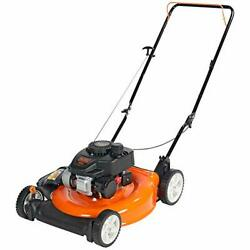140cc Ohv 21-inch 2-in-1 Walk-behind Push Gas Powered Lawn Mower Perfect