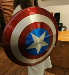 Marvel Legends Captain America 75th Metal Shield 1/1 Scale Collection In Stock