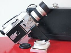 Near Mint Canon Auto Zoom 814 Super 8 Film Camera Tested And Free Shippng Wrldwde