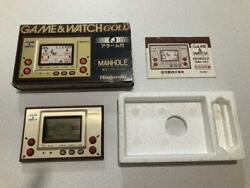 Nintendo Game Watch Manhole Check Operation Accessories Complete