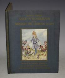 Carroll Songs From Alice In Wonderland And Through The Looking-glass 1921 1st
