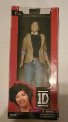 New Harry Styles One Direction 1d Collector Doll 2012 Hasbro Box Shows Wear