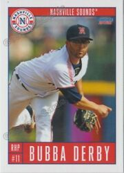 2021 Nashville Sounds Bubba Derby Rc Rookie Milwaukee Brewers