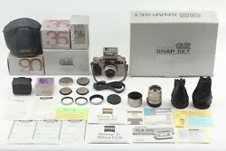 【mint Snap Set In Box】 Contax G2 Planar 35mm 90mm Tla200 + Case Strap From Japan