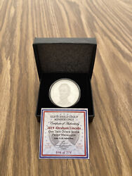 Abraham Lincoln Silver Shield Proof