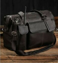 Lightspeed Aviation Flight Leather Bag The Gannnew And Authentic Free Shippin