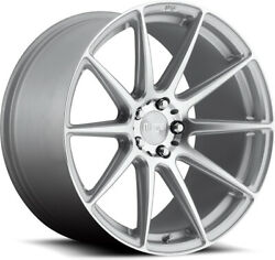 Alloy Wheels 21 Niche Essen Silver Polished Face For Bmw 4 Series [f32] 14-20