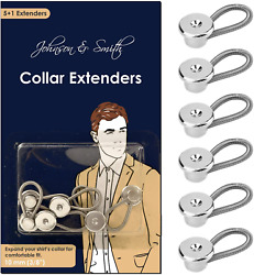 Collar Extenders - Neck Extender - For 1/2 Size Expansion Of Men Dress Shirts