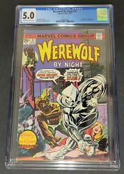 Werewolf By Night 32 - Cgc 5.0 - 1st Appearance Of Moon Knight