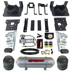 Air Bag Tow Kit White Controls Compressor And Tank For 2011-16 Ford F250 F350 2wd