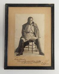 Actor Director Thomas E. Shea Autographed Antique Signed Cabinet Photo By Miner