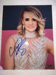 Hot Superstar Carrie Underwood Hand-sign Autographed 8x10 Close-up Photo W/coa