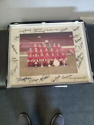 1977 Signed Liverpool Picture Rare Classic. Picture With Signed Surround.
