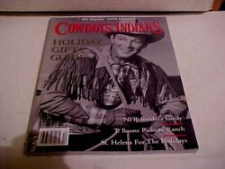 Cowboys And Indians Magazine December 2011 Roy Rogers T. Boone Pickens Ranch