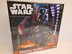 Disney Star Wars Trivia Board Game 650+ Questions Family - New - Contents Sealed