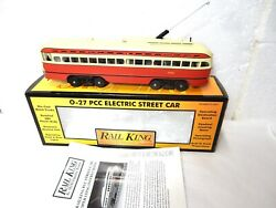 Mth Railking 30-2505-1 Pittsburgh Pcc Electric Street Car-with Protosounds One-
