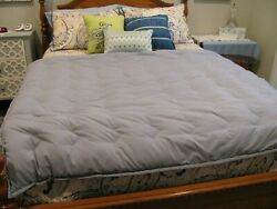 Light Gray Lightweight Home Fashion Throw Blanketandndash60andrdquox70andrdquo Quilted Down Fill