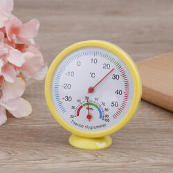 1pc Bell-shaped Scale Thermometer Hygrometer Wall Mount Temperature Measu N