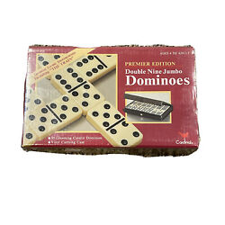Cardinal 55 Pc Double Nine Catalin Dominoes Game Set 511 New In Box W/case