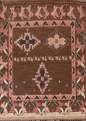 8and039x10and039 Geometric Moroccan Oriental Area Rug Hand-knotted Wool Living Room Carpet