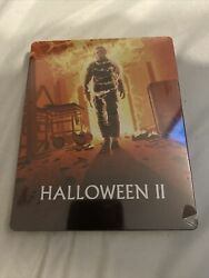 Halloween 2 Ii Limited Edition Steelbook Blu-ray Out Of Print Rare 2-disc Oop