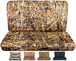 Seat Covers Fits Ford F150 Truck 1977-1994 Front Bench ,no Headrest Camouflage