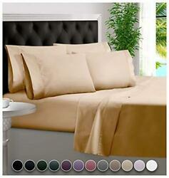 Bampure 6 Piece Bamboo Sheets 100 Organic Bamboo Assorted Sizes Colors