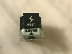 Shure M44c Cartridge And Genuine Shure N44c Stylus With Flip-down Needle Guard