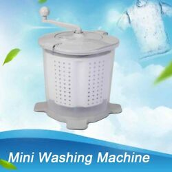 Mini Manual Washer And Spin Dryer Combo Non-electric Compact Rv Laundry Machine