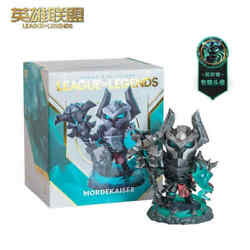 Original League Of Legends Mordekaise With Lighting Collectible Figure New Stock
