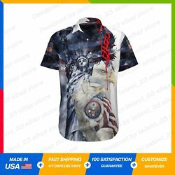 Statue Of Liberty Eagle Home Of Freedom Hawaii Shirt S-5xl